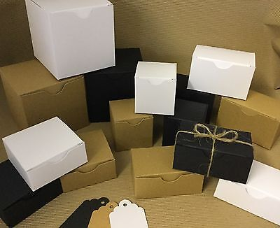 * NEW PRODUCTS * Eco kraft  Boxes, Gift Boxes, free gift tags 3 colours 7 sizes