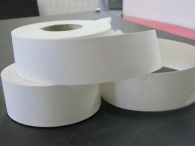Cardboard Ticket with hole 25 by 30mm per roll of 1000