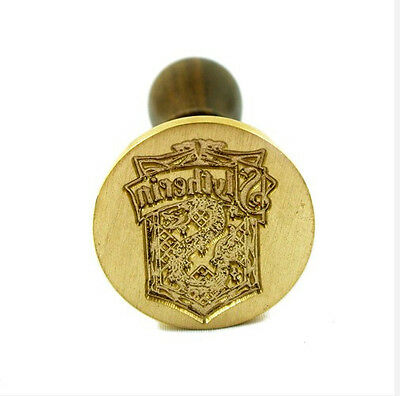 New Personalized Harry Potter Slytherin Badge Wax Brass Seal Stamp Freeshipping