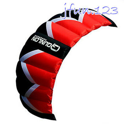 3 Sqm Trainer Traction Power Kite Quad Line Control 4 Line Kite Buggying Surfing