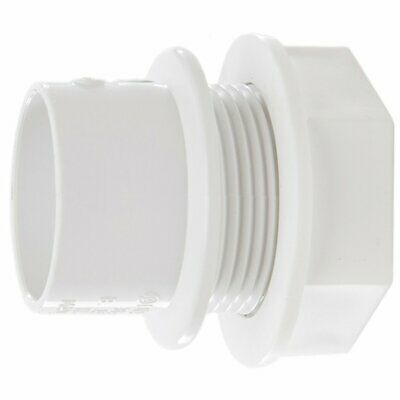 """ABS Tank Connector 1.25"""" 36mm Solvent Weld ideal for Water Butts Storage Tanks"""