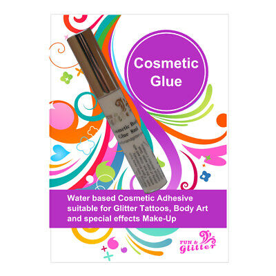 COSMETIC GLUE - Suitable for use on Skin & Lips - 8ml Bottles