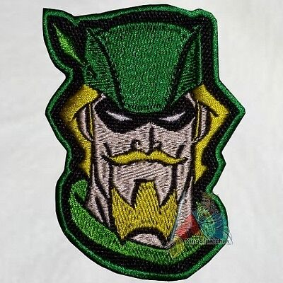 Green Arrow Head Embroidered Patch Justice League Unlimited Comic Friends JLU