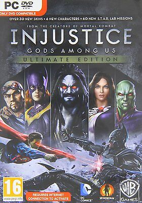 Injustice Gods Among Us Ultimate Edition - PC - Brand New & Sealed
