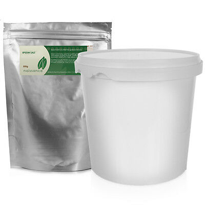 Epsom Salts Refill Pouch with Storage Pot by Naissance