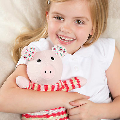 Intelex Heatable Knitted Warmer Pig - Microwave Soft Toy Microwavable Wheat Bag