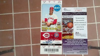 Signed Yankees Cubs Starlin Castro Mlb Debut Full 1St Hr Ticket 5/7/10 Jsa Coa!