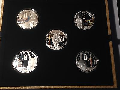 "2013 Niue ""The Story Of Osiris-5 Coin Set"" .999 Fine Silver Coin 