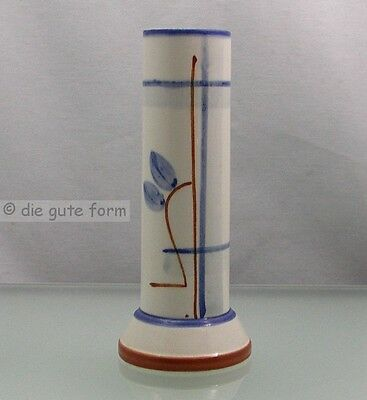 Absolut BAUHAUS - VASE Zylinderform mit strengem Liniendekor MADE IN GERMANY