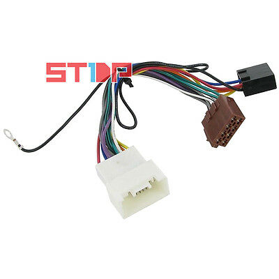MITSUBISHI LANCER 2007-2013 ISO WIRING HARNESS adaptor cable connector lead plug