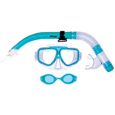 NOMAD JUNIOR KIDS Goggle Mask & Snorkel Snorkeling Swimming DIVING SET