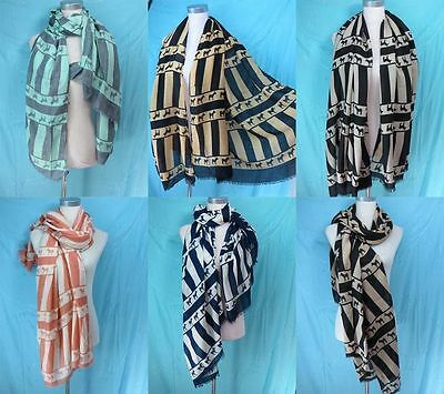 *US Seller*lot of 12 scarf fashion bohemian zebra soft warm scarves wholesale