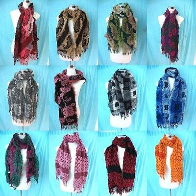 *US Seller*lot of 10 wholesale neck warmer women scarf Southwestern shawl wraps