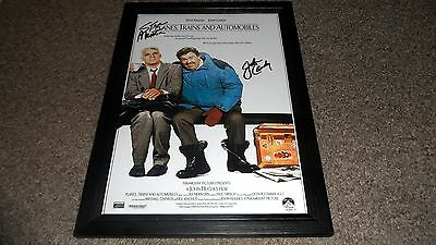 "Planes, Trains & Automobiles Pp Signed & Framed Poster 12""x8"" John Candy"