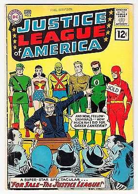 Justice League Of America #8 Barry Allen The Flash 1962