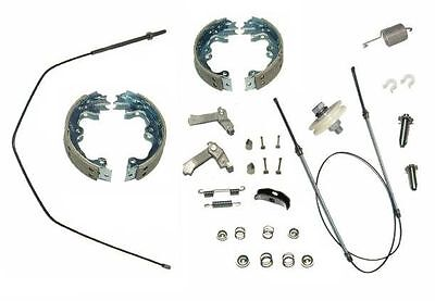 1967-82 Deluxe Parking Brake Kit Corvette 25+ Components-Replaces Everything