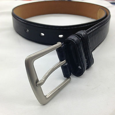 Kids Small Boys Belt Black New Genuine Leather Small/medium/large/buckle