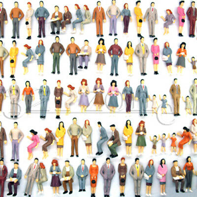 100 Architectural Scale Figure G Scale Trains Model Scale People Garden Railways