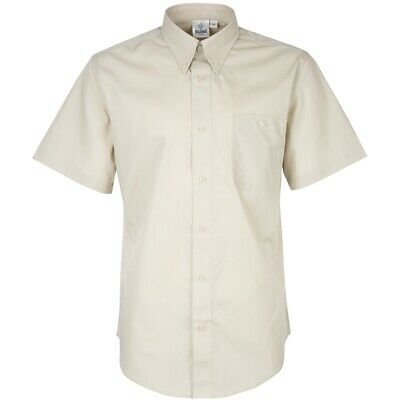 Adult Scout Leader Shirt Short Sleeve Stone Official Uniform New