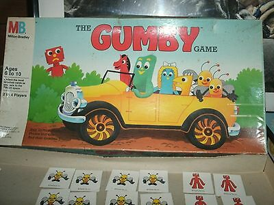 1988 VINTAGE GAMEBOARD GUMBY GAME