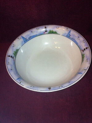Four (4) Thomson Pottery Lighthouse Soup / Cereal  Bowl  EXCELLENT CONDITION