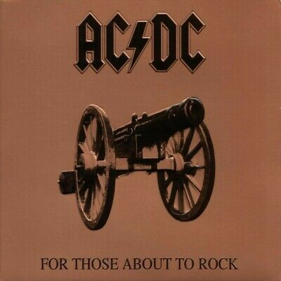 AC/DC For Those About To Rock remastered 180gm vinyl  LP NEW/SEALED