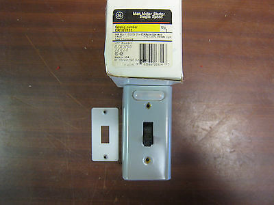 Ge Cr101Y11 Manual Motor Starter Switch 1 Hp New Free Shipping