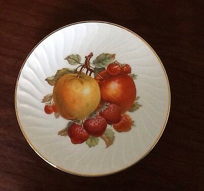 Mitterteich Old Nuremberg Bavaria Germany Salad Desert Luncheon Plate with Fruit