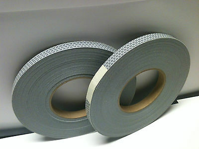 "2 =Avery High Intensity Reflective Tape Sign Hula Hoop White .5""x50 yds T-5500A"