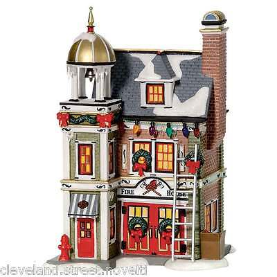 Department 56 A Christmas Story Village The Fire House
