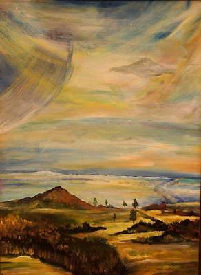Oil Painting scenery on canvas handmade direct from artist best Christmas gift