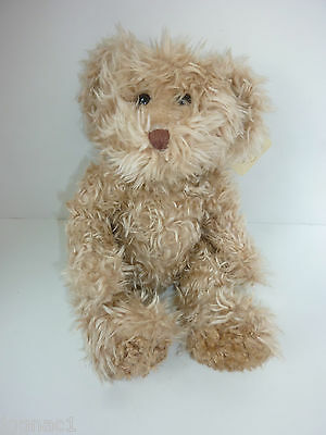 "Russ Radcliffe Bears from the Past Plush Beanie Doll 11"" w/tags Tan"