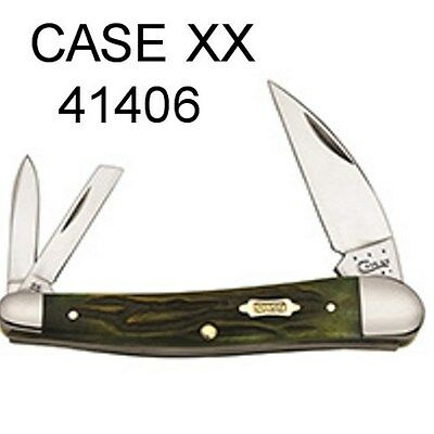 Case XX KNIFE #41406 SEAHORSE WHITTLER MOSS BROWN NEW!!