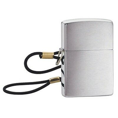 Zippo Brushed Chrome /Loss Proof Full Lighter 275 --- Free Ship