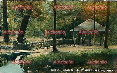 Ohio - OH: Greenspring, c.1912 Mineral Well and Gazebo  P13110010