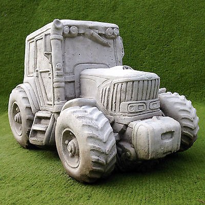 Garden Ornament - Concrete Tractor Planter