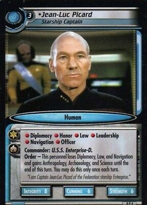 Star Trek Ccg Second Edition Picard Promo Card 0P4 Decipher