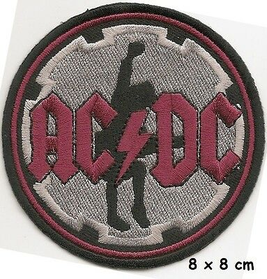 AC/DC  - Round patch - FREE SHIPPING