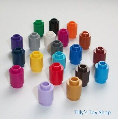 Lego Pick a Colour Fifteen 1x1 Round Small Nose Cones ID 59900 NEW