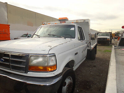 1992 FORD F-SUPERDUTY DUMP TRUCK WITH PTO