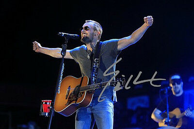 ERIC CHURCH 8 X 10 RP PHOTO AUTOGRAPHED COUNTRY SINGER