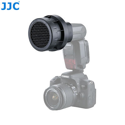 JJC Stacking Honeycomb Grid Light Modifier Cap For Canon 580EX 580EX II 600EX RT