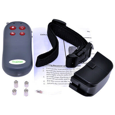 4in1 Remote Small/Med Dog Training Shock+Vibrate Collar
