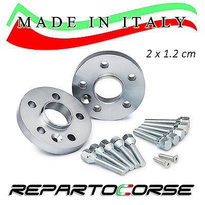 Kit 2 Distanziali 12Mm Repartocorse - Peugeot 208 Cerchi Originali Made In Italy