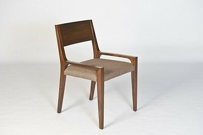 "34"" tall Dining Chair solid trembesi wood modern Contemporary java natural"
