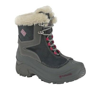 Columbia Youth  Bugaboot Plus Dark Shadow Size 1, 2, 3, 4, 5, 6, 7  (022)