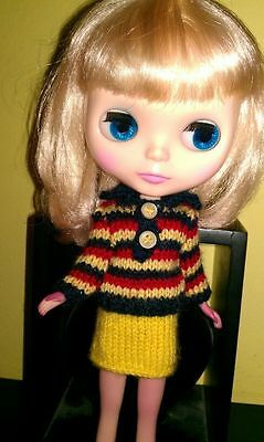 Suéter. Sweater. Pull. Neo Blythe.