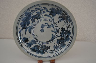 Rare Vintage Hand Painted Japanese 3 set  Plates With Signature