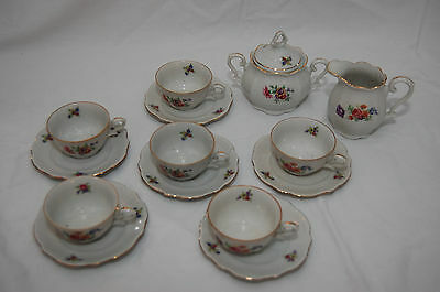 BAREUTHER Bavaria Occupied Germany US Zone Petite Coffee Tea Set Service for 6