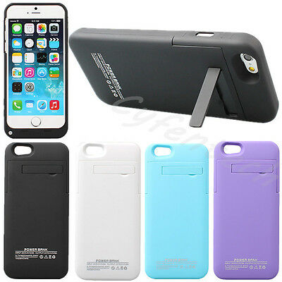 4200MAH FUNDA BATERIA EXTERNA CARGADOR POWER BANK CARCASA PARA iPhone 6 6S 4.7""